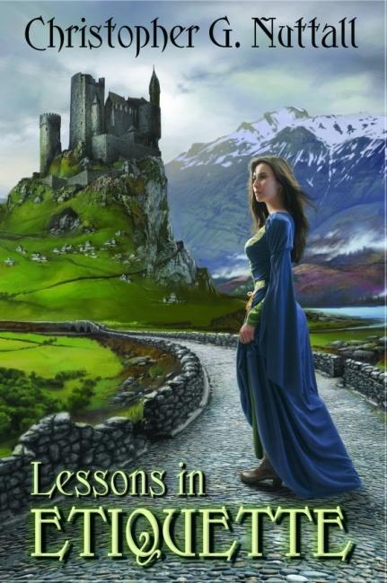 Photo Fantasy Book Cover Tutorial : Lessons in etiquette